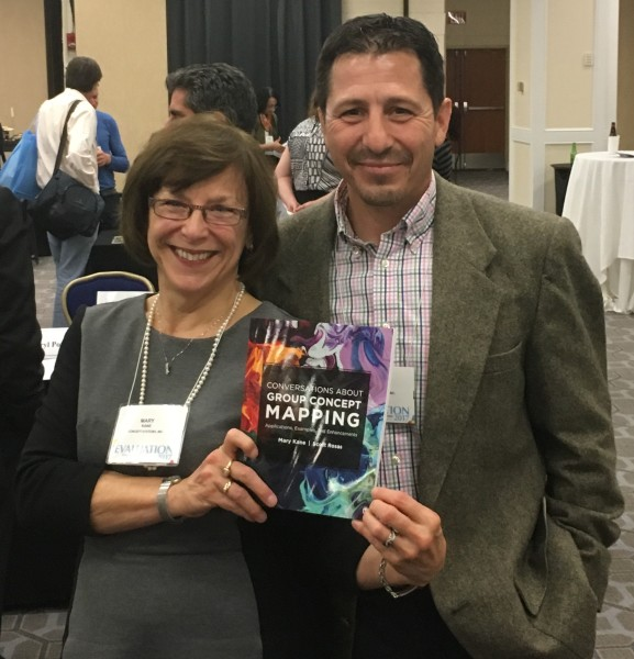 Mary and Scott at book signing AEA Nov2017